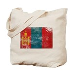 Mongolia Flag Tote Bag