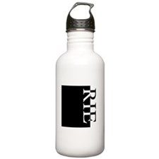 RIE Typography Water Bottle