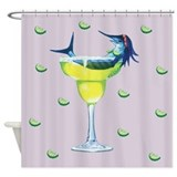 Margarita Trixie lavendar Shower Curtain