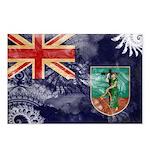 Montserrat Flag Postcards (Package of 8)