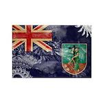 Montserrat Flag Rectangle Magnet (10 pack)
