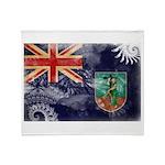 Montserrat Flag Throw Blanket