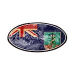 Montserrat Flag Patches