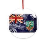 Montserrat Flag Ornament (Round)