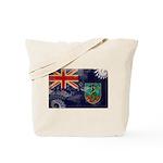 Montserrat Flag Tote Bag