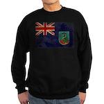 Montserrat Flag Sweatshirt (dark)