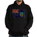 Montserrat Flag Hoodie (dark)