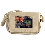Montserrat Flag Messenger Bag