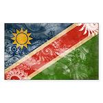 Namibia Flag Sticker (Rectangle 10 pk)