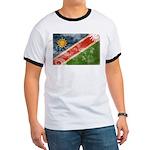 Namibia Flag Ringer T