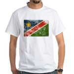 Namibia Flag White T-Shirt