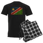 Namibia Flag Men's Dark Pajamas