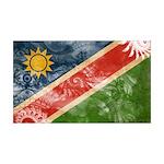 Namibia Flag 38.5 x 24.5 Wall Peel