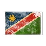 Namibia Flag Car Magnet 20 x 12