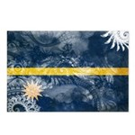 Nauru Flag Postcards (Package of 8)