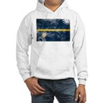 Nauru Flag Hooded Sweatshirt