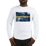 Nauru Flag Long Sleeve T-Shirt