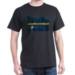 Nauru Flag Dark T-Shirt