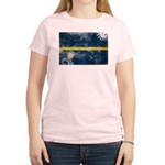 Nauru Flag Women's Light T-Shirt