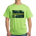 Nauru Flag Green T-Shirt
