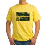 Nauru Flag Yellow T-Shirt