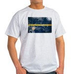 Nauru Flag Light T-Shirt