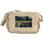 Nauru Flag Messenger Bag