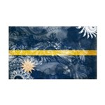 Nauru Flag 38.5 x 24.5 Wall Peel
