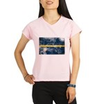 Nauru Flag Performance Dry T-Shirt