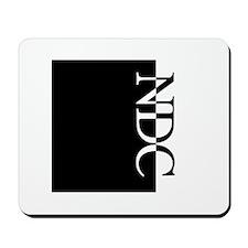 NDC Typography Mousepad