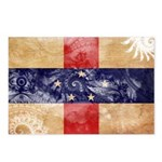 Netherlands Antilles Flag Postcards (Package of 8)