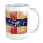 Netherlands Antilles Flag Large Mug