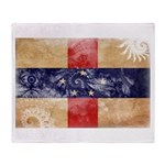 Netherlands Antilles Flag Throw Blanket