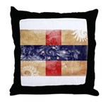 Netherlands Antilles Flag Throw Pillow