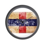 Netherlands Antilles Flag Wall Clock