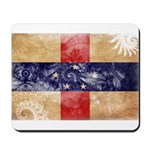 Netherlands Antilles Flag Mousepad