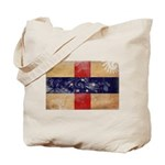 Netherlands Antilles Flag Tote Bag