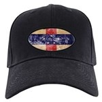 Netherlands Antilles Flag Black Cap