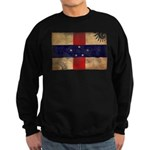Netherlands Antilles Flag Sweatshirt (dark)