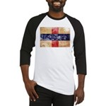 Netherlands Antilles Flag Baseball Jersey