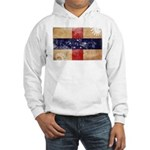 Netherlands Antilles Flag Hooded Sweatshirt