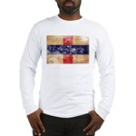 Netherlands Antilles Flag Long Sleeve T-Shirt