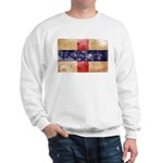 Netherlands Antilles Flag Sweatshirt