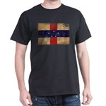 Netherlands Antilles Flag Dark T-Shirt
