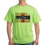 Netherlands Antilles Flag Green T-Shirt