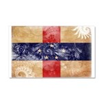 Netherlands Antilles Flag Car Magnet 20 x 12