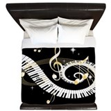 Music King Duvet Covers