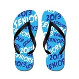 Blue class of 2013 Flip Flops