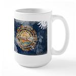 New Hampshire Flag Large Mug