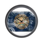 New Hampshire Flag Wall Clock